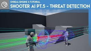 Unreal Engine 4 Tutorial - Shooter AI-Pt.5 - Threat-Erkennung