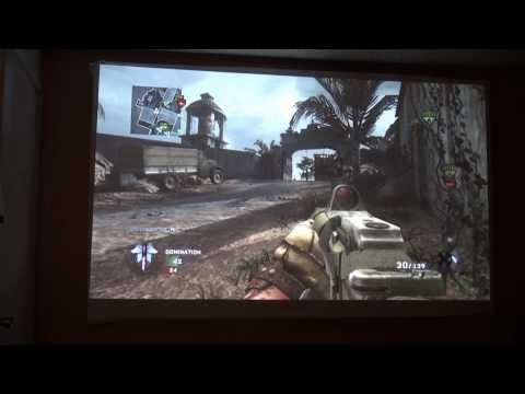 call of duty gameplay 1080p projectors