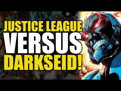 Justice League vs Darkseid! (New 52 Justice League Vol 1: Origins)