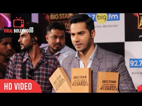 Varun Dhawan Full Interview | Big Star Entertainment Awards 2015