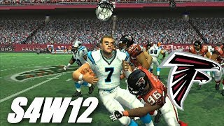 OH THOSE PANTHERS WITH BIG BEN - MADDEN 07 PS2 - FALCONS FRANCHISE S4W12