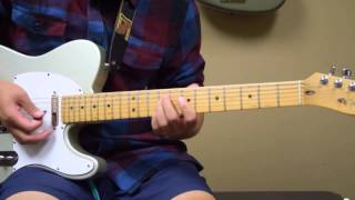 """COS Lead Guitar Tutorial For """"This Is Living"""" By Hillsong Young & Free"""