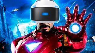 ИГРА про ЖЕЛЕЗНОГО ЧЕЛОВЕКА для PlayStation VR! ОБЗОР ТРЕЙЛЕРА
