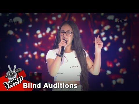 Κλαυδία Παπαδοπούλου - Roxanne | 5o Blind Audition | The Voice of Greece