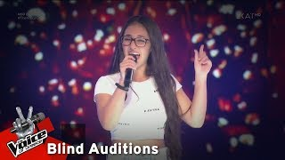 Claudia Papadopoulou - Roxanne | 5th Blind Audition | The Voice of Greece