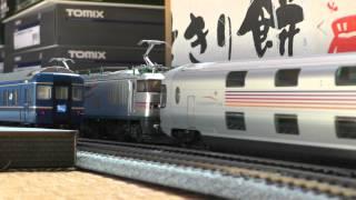 Repeat youtube video 【鉄道模型】HOゲージ 北斗星とカシオペア