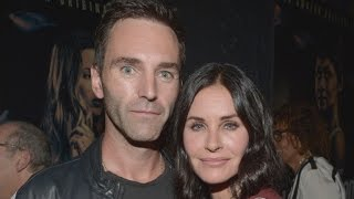 Courteney Cox and Ex-Fiance Johnny McDaid Caught Kissing in London
