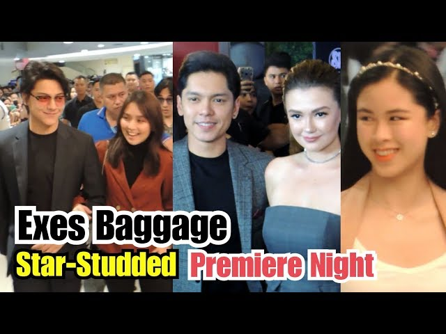 Kathniel & Cargel | Exes Baggage STAR-STUDED Premiere Night - Angelica Panganiban & Carlo Aquino