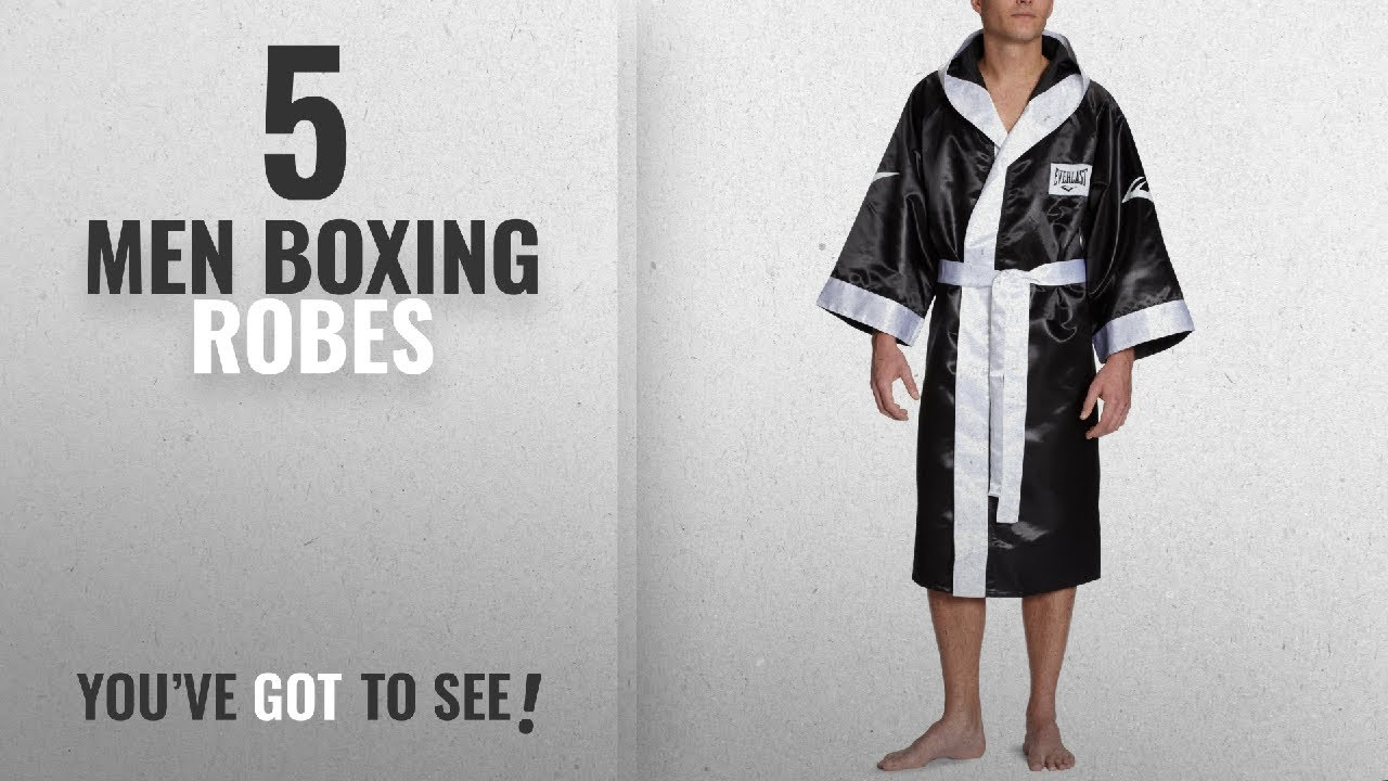 Top 10 Men Boxing Robes [2018]: Everlast Boxing Robe with Hood ...