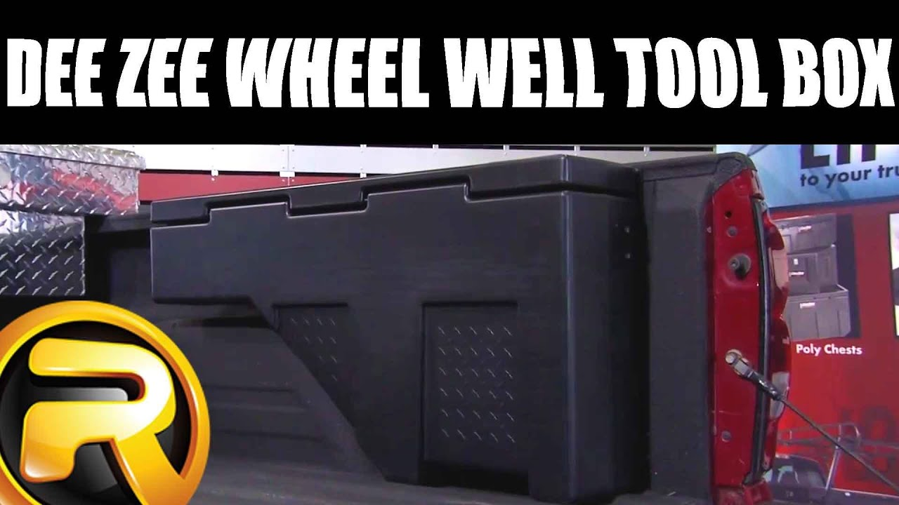 How To Install Dee Zee Wheel Well Tool Box Youtube