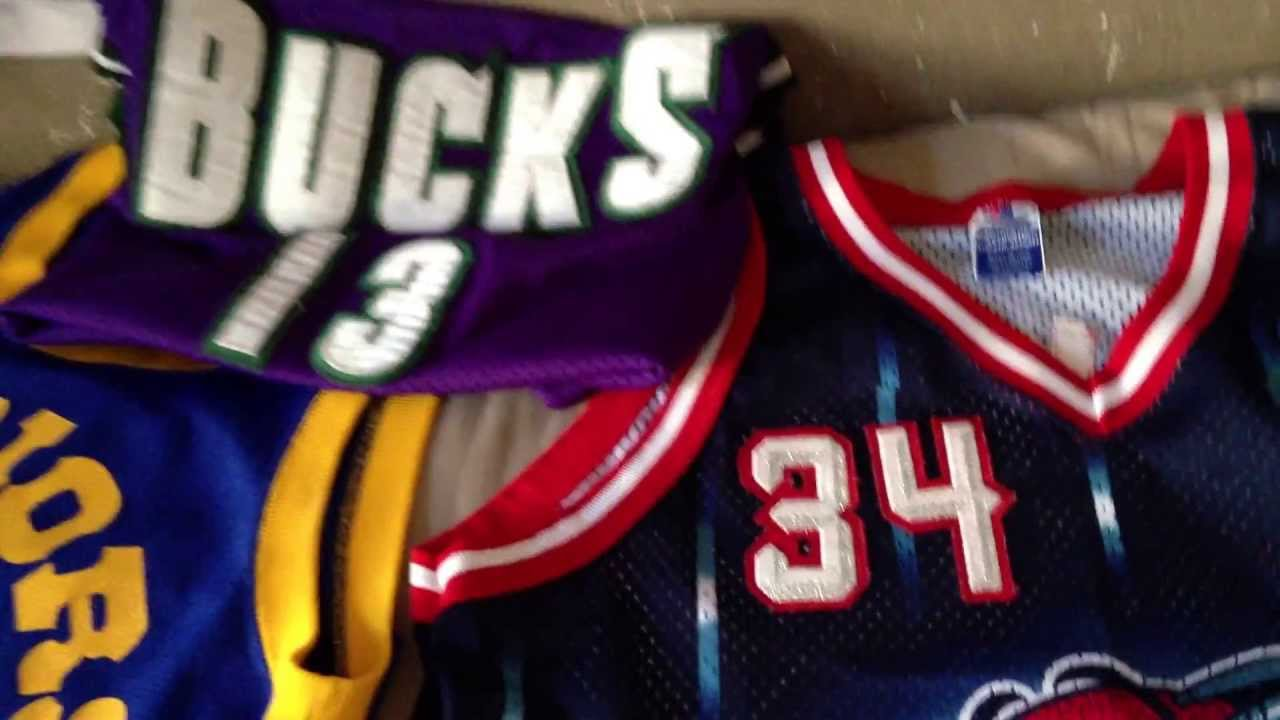 finest selection fb2c5 3b3f8 NBA jersey collection vintage rare oldschool utah jazz lakers instagram