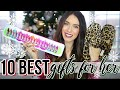 10 BEST CHRISTMAS GIFTS FOR HER | Holiday Gift Guide 2018