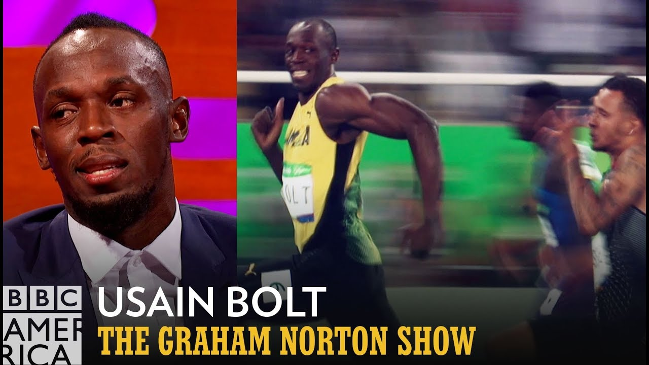Usain Bolt On His Famous Olympics Photo - The Graham Norton Show