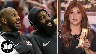 Rachel Nichols lights a prayer candle for Chris Paul's health | The Jump