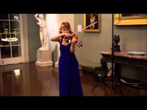 Irina Muresanu Performs Prokofiev - Sonata for Solo Violin, op. 115; I. Moderato