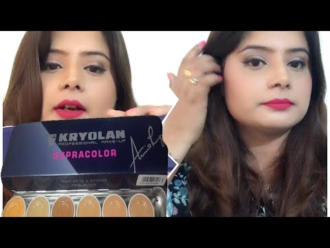 Kryolan Supra Color Palette Tutorial Makeup For Dry Skin How I Do