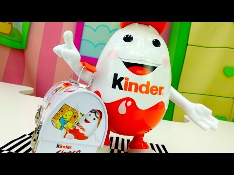 Kinder surprise. Игра мультфильм про киндер сюрпризы.