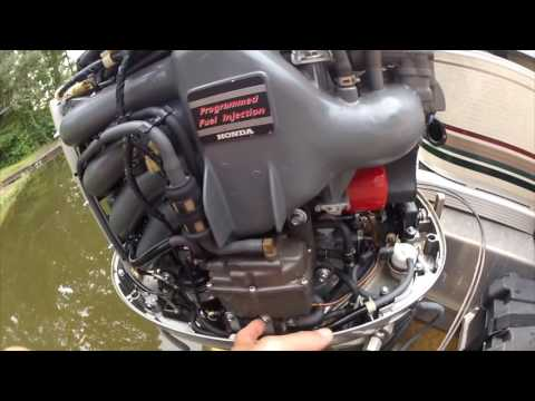 Honda BF115A start problem  YouTube
