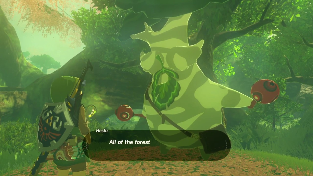 Zelda: BOTW (900 Korok Seeds Reward // Hestu's Gift) - YouTube