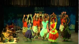 Eminent Odissi dancer Sujata Mahapatra performing at SAI International