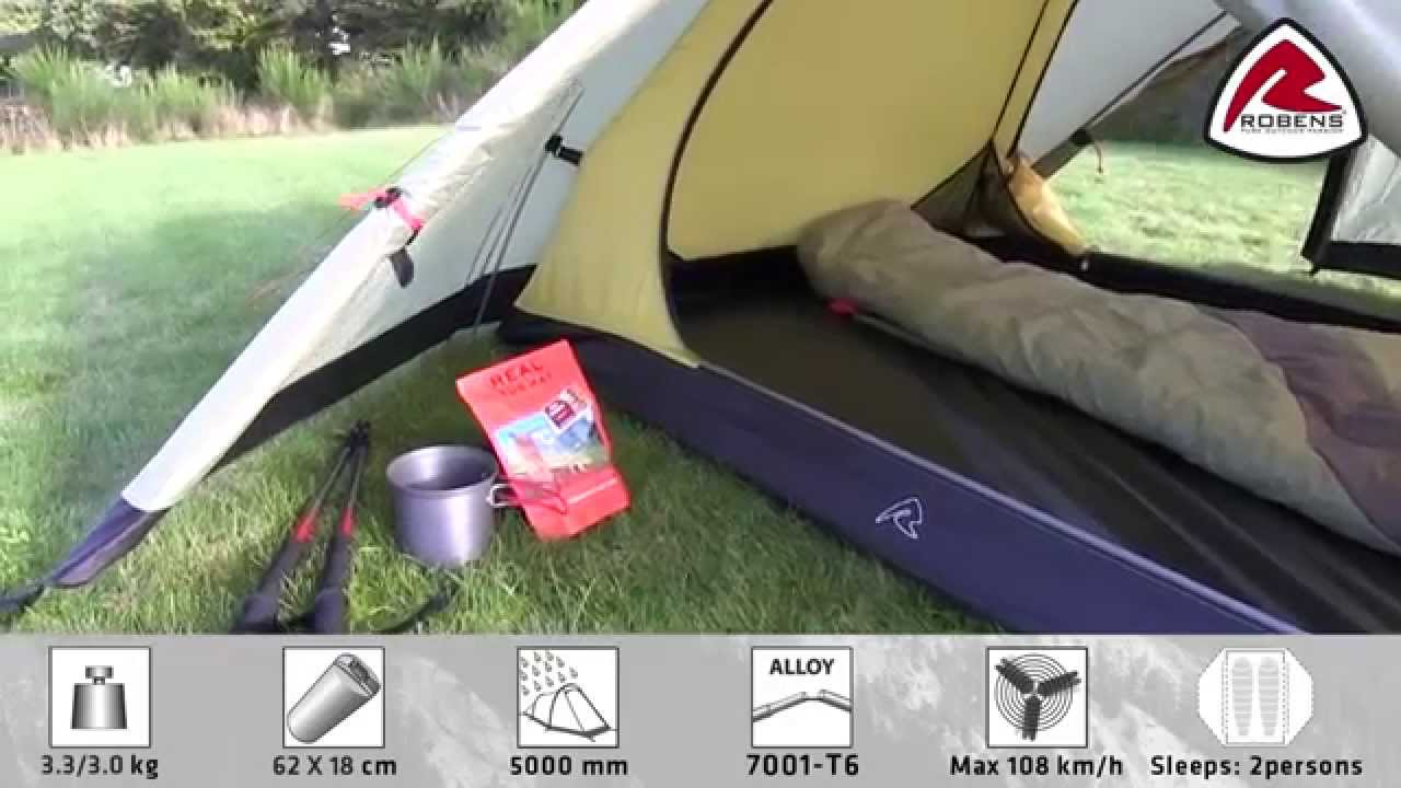 Robens Lodge 2 Tent | Pure Outdoor Passion & Robens Lodge 2 Tent | Pure Outdoor Passion - YouTube