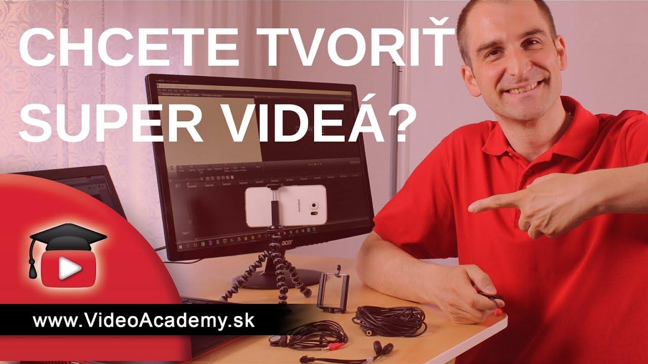 f56dbea03 6 vecí, ktoré Vám stačia na vytvorenie super videa - YouTube