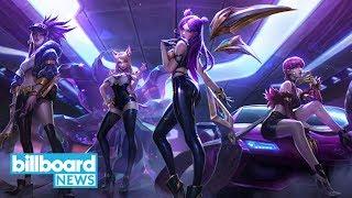 Will K-Pop Fans Embrace New Virtual Reality Girl Group K/DA? | Billboard News