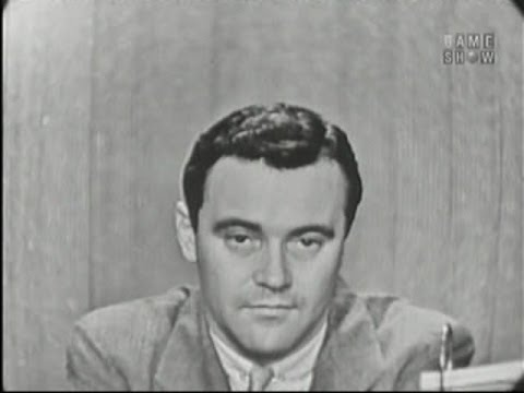 What's My Line? - Jack Lemmon; Ernie Kovacs [panel] (Nov 3, 1957)
