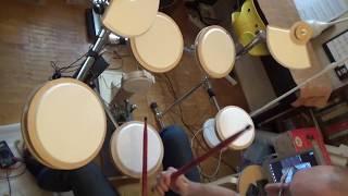 Электронные барабаны за 11 т.р.(видео для заказчика)