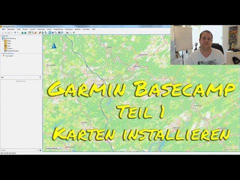 Garmin BaseCamp Teil 1 - Karten Installieren