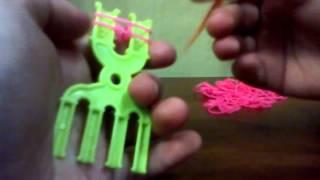 Плетение из резинок. Урок 1.