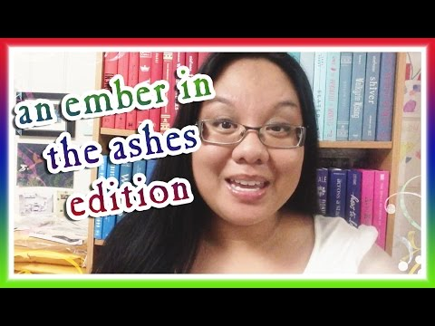 Book Haul Unboxing #96: AN EMBER IN THE ASHES Edition (June 2015)
