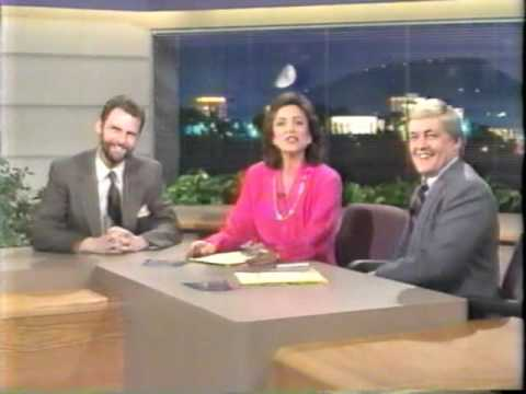 Channel 3 Chattanooga newscast close, 1987