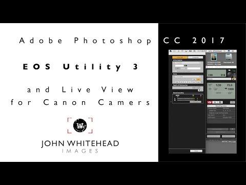Canon's EOS Utility 3 Program And Remote Live View