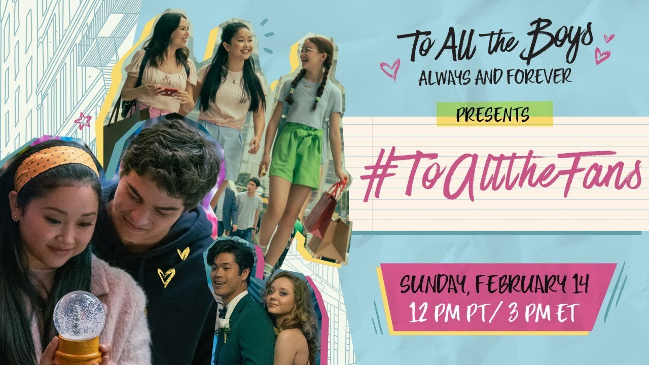 Lana Condor & Noah Centineo Share To All the Boys BTS, Fan Favs + MORE | #ToAllTheFans | Netflix