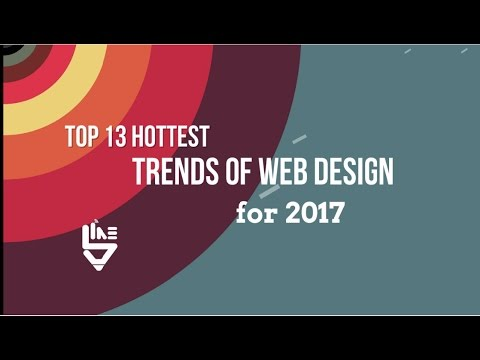 Web Design Trends 2017 by 5ine Web Solutions Pvt Ltd - YouTube
