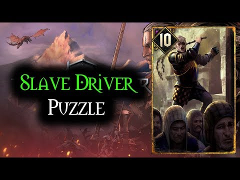 Slave Driver Puzzle - Thronebreaker The Witcher Tales