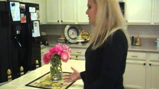 Easy Household Tips - Dresser Makes Kitchen Island - Your Youtube Mom