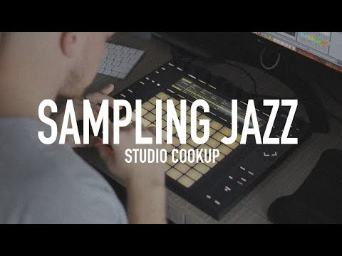 Making a Chill Beat From a Jazz Sample // Ableton Live Push 2 Beat Making with Homage