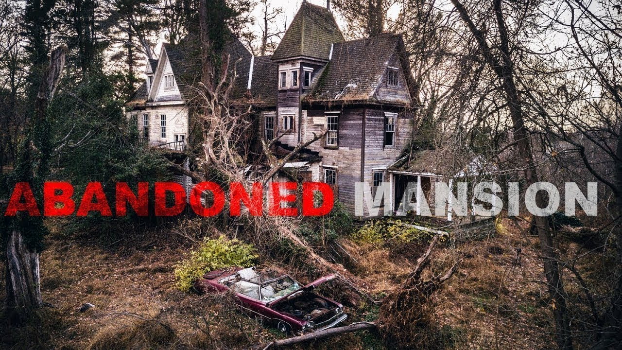 Abandoned Haunted Mansion With Old Cars Where Two Little Girls Died
