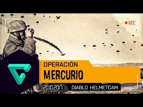 OPERACIÓN MERCURIO - FALLSCHIRMJÄGER - ARMA 3 - WW2 IFA3 - ACE3 - CLAN ESUS - DIABLO HELMETCAM