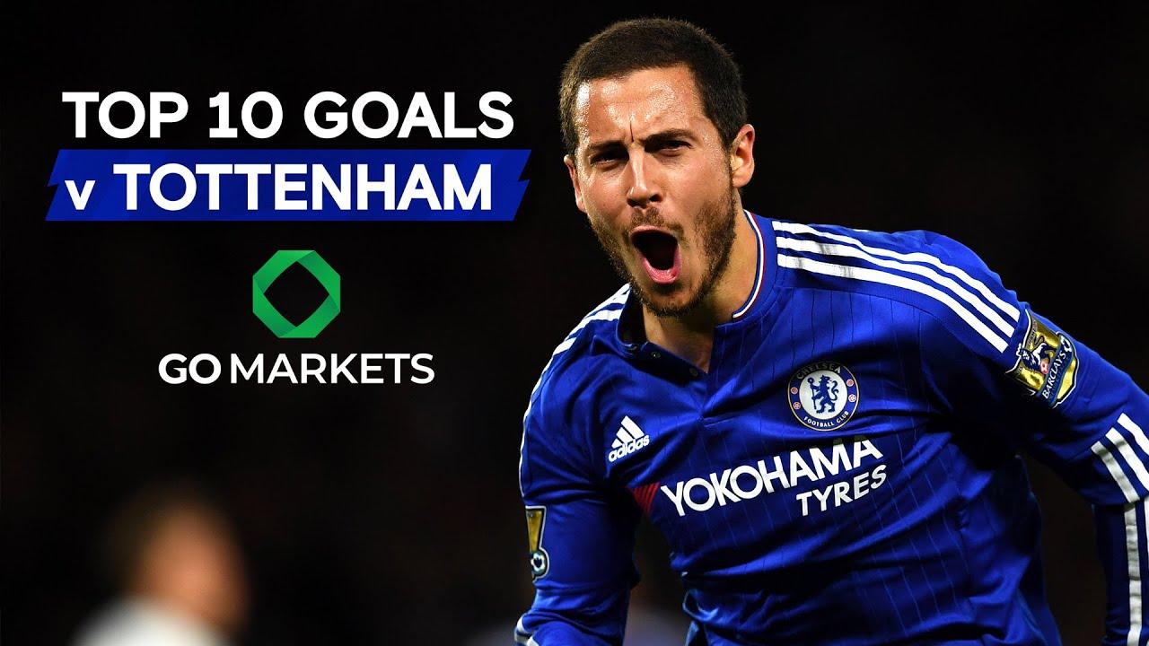 Top 10 Best Chelsea Goals v Tottenham Hotspur ft. Alonso, Hazard, Matic & More