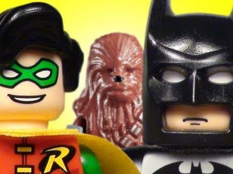The Lego Batman, Spider-Man, & Chewbacca Movie
