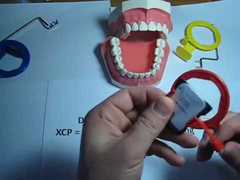 How to use a Bitewing (red) XCP dental film / PSP holder for Dental Xrays
