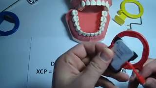 How to use a Bitewing (red) XCP dental film / PSP holder
