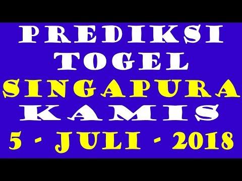 PREDIKSI TOGEL SINGAPURA HARI INI - KAMIS - 5 - JULI - 2018