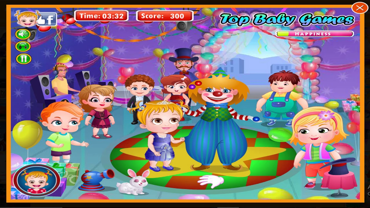 Baby Hazel Birthday Party • Free Online Games at PrimaryGames