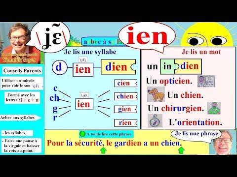 Apprentissage de la lecture Maternelle CP en Français # ien (106)