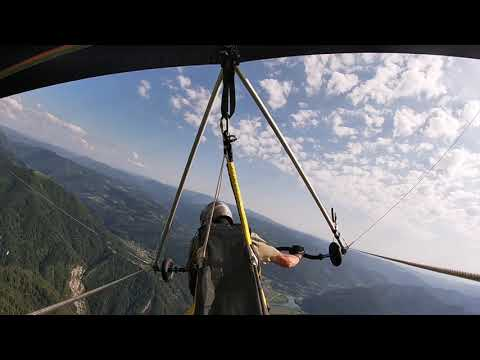 Hang gliding: my 2019 final mountain flight (full)