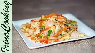 ЖАРЕНЫЙ РИС по-тайски - просто и вкусно | Thai Fried Rice